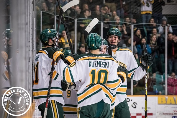 Clarkson University hockey team in NCAA Hockey Tournament