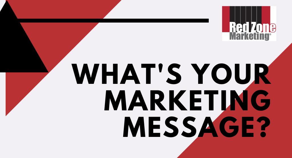 marketing message