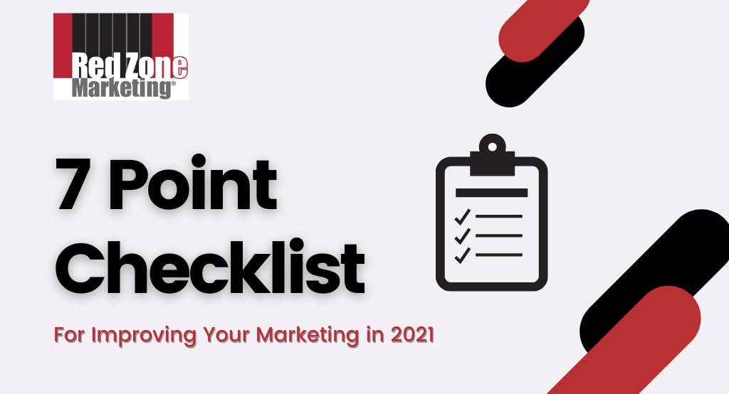 7 Point Marketing Checklist
